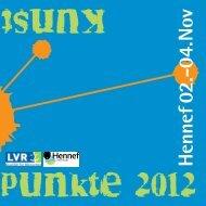 Hennef 02.-04.11.2012 - Kunstpunkte in Hennef