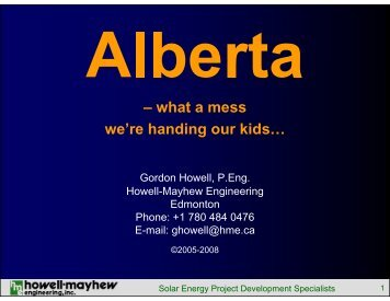 what a mess we're handing our kids… - Howell-Mayhew Engineering