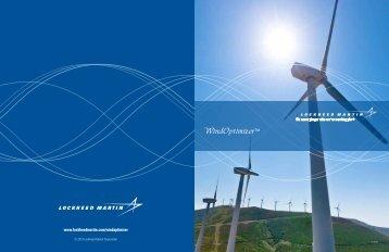 WindOptimizerTM - Lockheed Martin