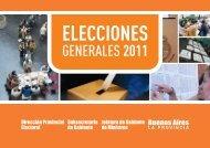 ELECCIONES - Ministerio de Jefatura de Gabinete de Ministros