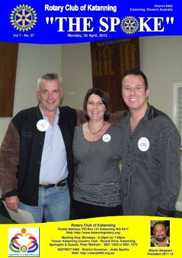 Vol 7-28-April 30 - Katanning Rotary Club