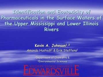 Identification and Ecotoxicity of Pharmaceuticals in the Surface ...