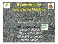 presentazione ronchetti su censimento - Comune di Vignola