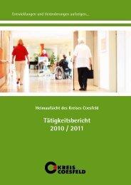 Tätigkeitsbericht 2010 / 2011 - OSIRIS