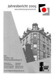 Jahresbericht 2005 - Ehe-, Familien- und Partnerschaftsberatung