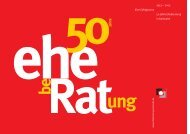 1953 – 2003 Eine Erfolgsstory 50 Jahre Eheberatung in Karlsruhe