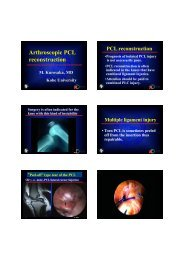 DJIAN Lig synthetic vd pdf - 5th Advanced Course on Knee Surgery