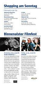 Shopping am Sonntag Binnenalster Filmfest - Filmfest Hamburg - Seite 2