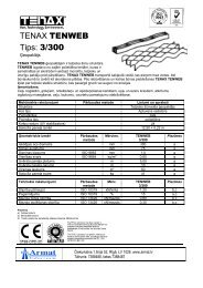 TENAX TENWEB Tips: 3/300 - Madona.lv