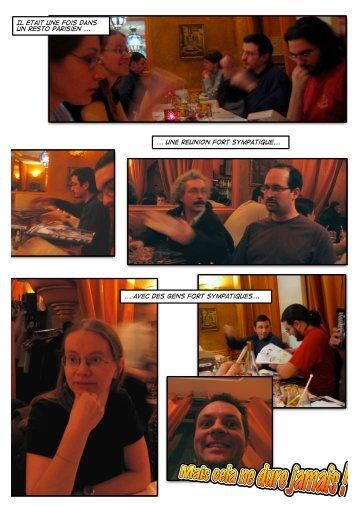Il etait une fois dans un resto parisien ... ... une reunion fort ... - ActuSF