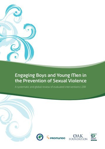 Engaging Boys and Young Men in the Prevention of Sexual Violence
