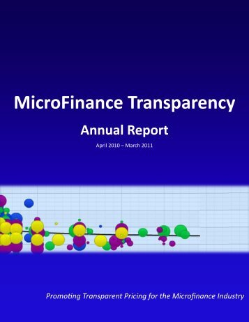 2010-11 Annual Report - MFTransparency.org