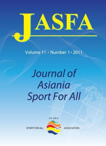 A Cross-national Study of Sport Promotion Policies in Japan ... - asfaa