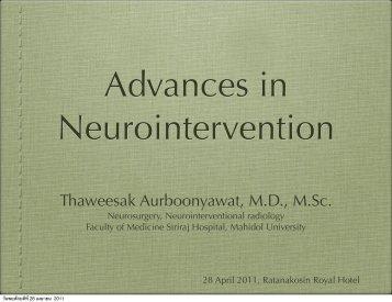 Thaweesak Aurboonyawat, MD, M.Sc. - Neuroscience.mahidol.ac.th ...