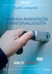 Lataa PDF-esite - Abloy Oy