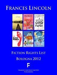 Childrens Fiction Titles - Frances Lincoln