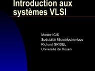 5. Introduction aux systèmes VLSI