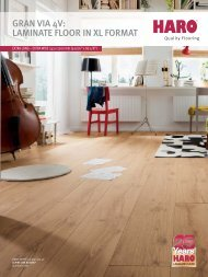 GRAN VIA 4V: LAMINATE FLOOR IN XL FORMAT - Der Onlinekatalog