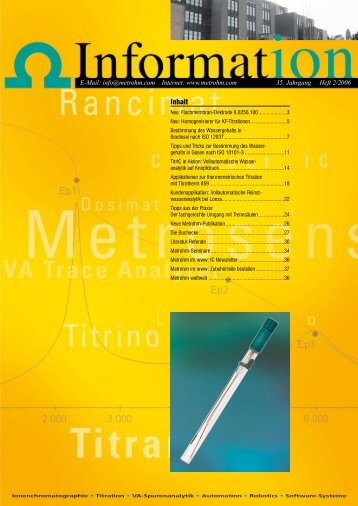 Download (PDF) - Metrohm AG
