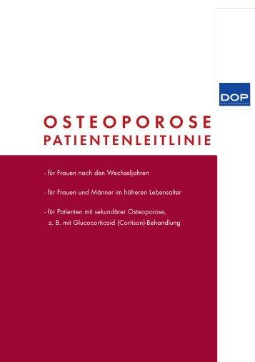 Osteoporose Patientenleitlinie - Dachverband deutschsprachiger ...