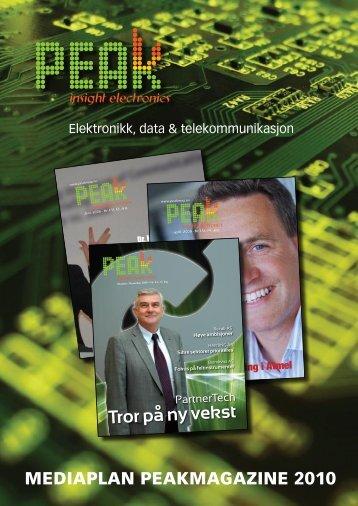 Tror på ny vekst - Peak Magazine