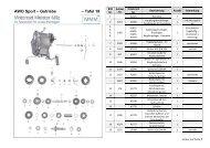 AWO Sport – Getriebe – Tafel 18 - Motorrad Meister Milz
