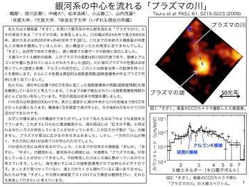 記者発表@JAXA東京事務所の資料 - 宇宙線研究室 - 京都大学
