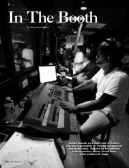 Read about the boys who run the Sound Booth ... - Landon School