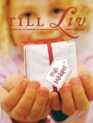 december 2007 - Till Liv