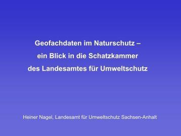 Die Schatzkammer - netzwerk | GIS Sachsen-Anhalt