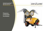 Puissance, productivité et précision - Gregoire Group : Grégoire ...
