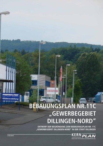 KERN PLAN - Stadt Dillingen