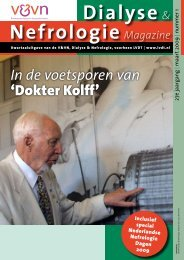Dialyse & Nefrologie Magazine - Landelijke Vereniging Dialyse en ...
