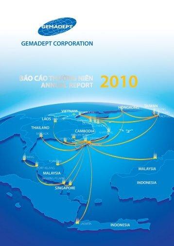 BáO CáO ThườNG NIêN ANNuAl REPORT 2010 - Công ty Cổ phần ...