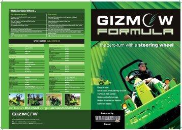 Gizmow Formula Diesel Brochure (PDF - 3.5MB) - PSD Groundscare