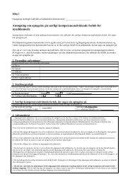 Ansøgning om optagelse på særligt kompetenceudvidende forløb ...