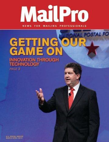 MailPro March/April 2013 - USPS.com