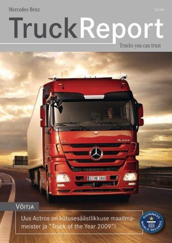 TruckReport 01/09 - Silberauto
