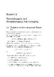 apitel Darstellungen und Realisierungen von 9ruppen 2.1 Definition ...