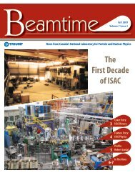 The First Decade of ISAC - Triumf