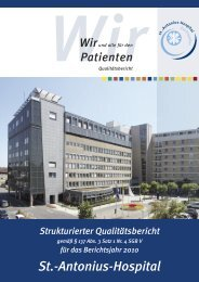 B Struktur - St.-Antonius-Hospital