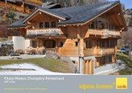 Chalet Mayen, Champéry, Switzerland - Ski chalets for sale