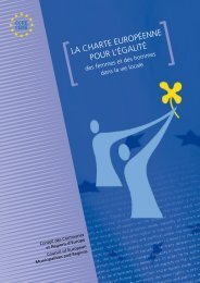 Charte européenne pour l'égalité femmes-hommes dans la vie locale