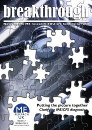 Download a pdf version - ME Research UK