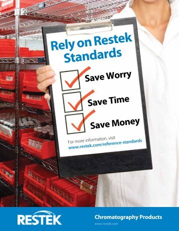 Rely on Restek Standards - Teknokroma