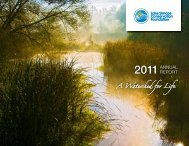 2011 Annual Report - Lake Simcoe Region Conservation Authority