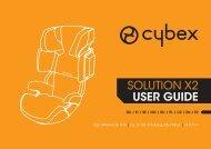 Скачать инструкцию для кресла Cybex Solution X2