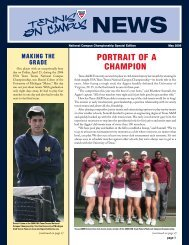 May 2006 - Tennis On Campus