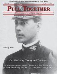 Pull Together Spring/Summer 2012 - Naval Historical Foundation