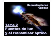 Transmisores ópticos